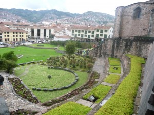 Cusco temple of the sun