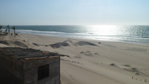 Mancora beach in north Peru